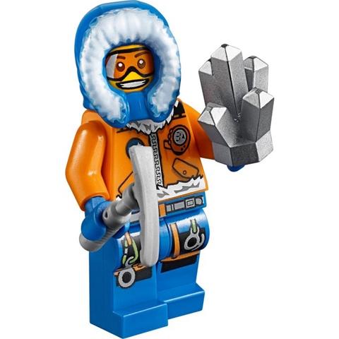 Lego City 60032 - Mô Tô Trượt Tuyết giúp phát triển khả năng tư duy sáng tạo cho bé