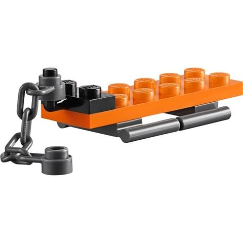 Các chi tiết của Lego City 60032 - Mô Tô Trượt Tuyết đều được từ nhựa an toàn