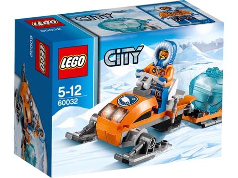 Hình ảnh bên ngoài sản phẩm Lego City 60032 - Mô Tô Trượt Tuyết