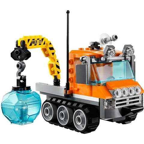Các mảnh ghép trong Lego City 60033 - Xe Chuyên Dụng Bắc Cực đều được làm từ nhựa an toàn