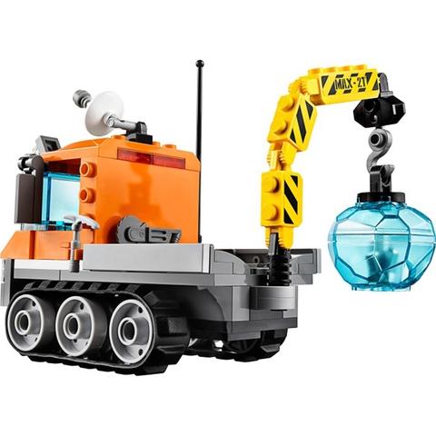 Bộ xếp hình Lego City 60033 - Xe Chuyên Dụng Bắc Cực kích thích tư duy sáng tạo