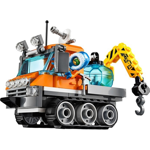 Lego City 60033 - Xe Chuyên Dụng Bắc Cực với nhiều mô hình độc đáo cho bé khám phá