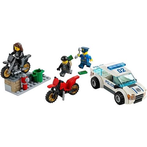 Giúp bé phát triển trí sáng tạo với đồ chơi Lego City 60042 - Rượt Đuổi Tốc Độ