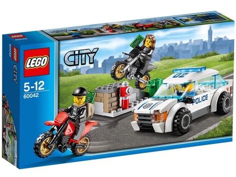 Hình ảnh bên ngoài sản phẩm Lego City 60042 - Rượt Đuổi Tốc Độ