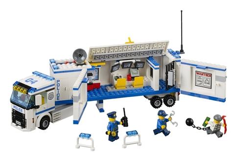 Các chi tiết có trong bộ Lego City 60044 - Đội Cảnh Sát Thông Tin