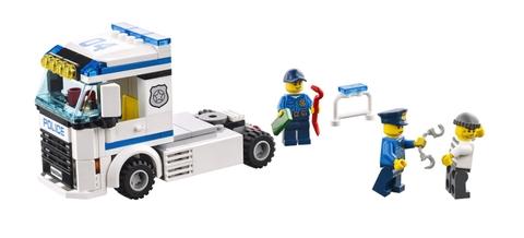 Trẻ sẽ học cách kiên nhẫn hơn khi chơi Lego City 60044 - Đội Cảnh Sát Thông Tin