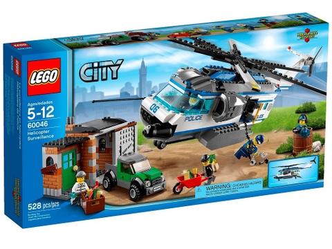 Hình ảnh bên ngoài của sản phẩm Lego City 60046 - Trực Thăng Tuần Tra