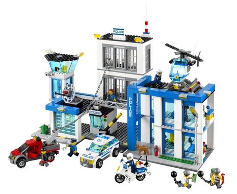 Các chi tiết xuất hiện trong bộ đồ chơi Lego City 60047 - Sở Cảnh Sát