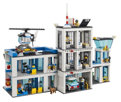 Khi chơi trò chơi Lego City 60047 - Sở Cảnh Sát, trẻ sẽ phát triển khả năng sáng tạo, tư duy