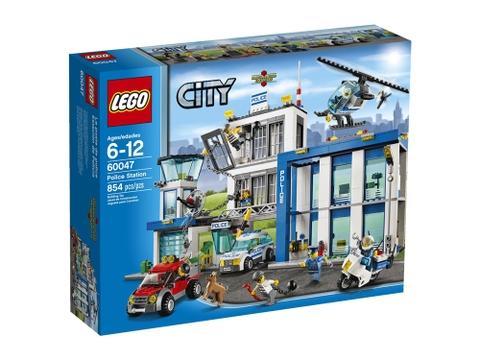 Hình ảnh bên ngoài sản phẩm Lego City 60047 - Sở Cảnh Sát