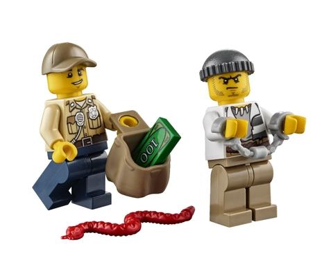Các mô hình trong bộ đồ chơi Lego City 60065 - Xe Địa Hình 4 Bánh được thiết kế vô cùng tinh tế và sinh động