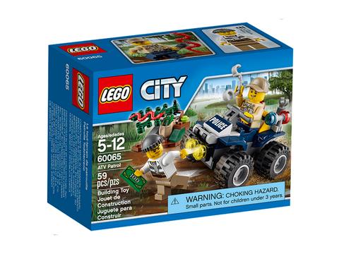 Hình ảnh bên ngoài sản phẩm Lego City 60065 - Xe Địa Hình 4 Bánh
