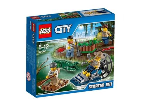 Hình ảnh sản phẩm Lego City 60066 - Cảnh Sát Đầm Lầy - Bộ Khởi Đầu