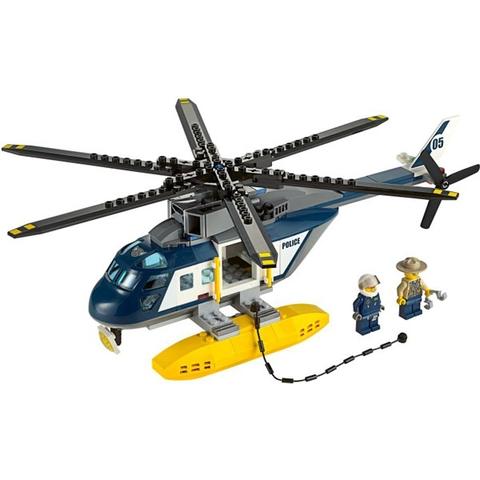 Chiếc trực thăng độc đáo của nhân viên cảnh sát