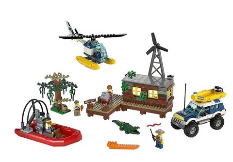 Các chi tiết có trong Lego City 60068 - Hang Ổ Tội Phạm