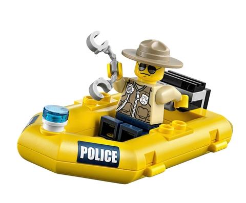 Bộ đồ chơi Lego City 60068 - Hang Ổ Tội Phạm được làm từ nhựa cao cấp an toàn cho trẻ