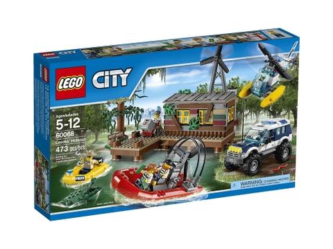 Hình ảnh bên ngoài sản phẩm Lego City 60068 - Hang Ổ Tội Phạm