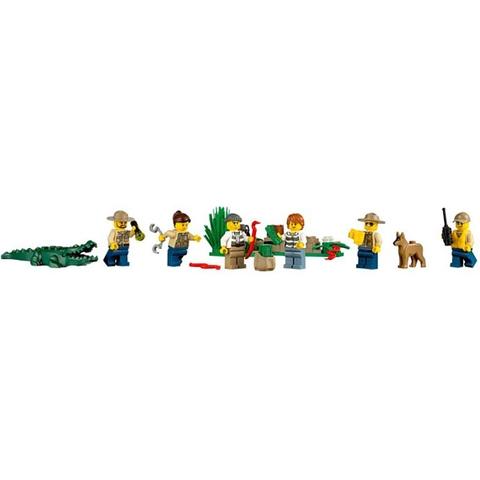 Tất cả các chi tiết nhựa trong Lego City 60069 - Trạm Cảnh Sát Đầm Lầy đều rất an toàn