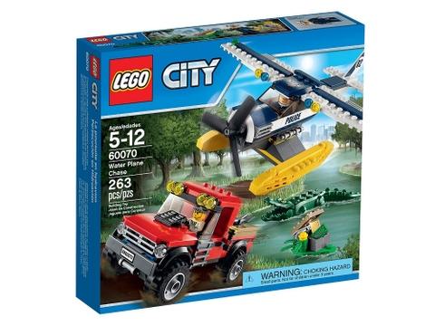 Hình ảnh vỏ hộp bộ Lego City 60070 - Rượt Đuổi Đầm Lầy