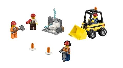 Toàn bộ chi tiết có trong Lego City 60072 - Bộ Khởi Đầu Tháo Dỡ