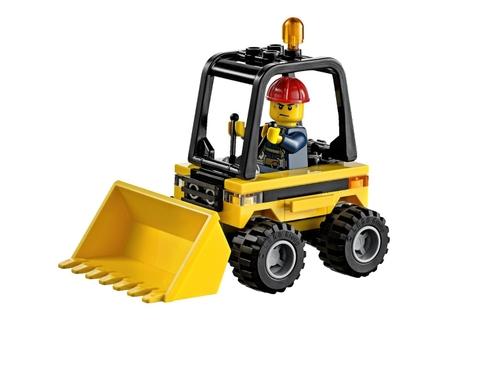Nhựa an toàn được sử dụng trong Lego City 60072 - Bộ Khởi Đầu Tháo Dỡ