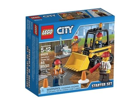 Hình ảnh vỏ ngoài sản phẩm Lego City 60072 - Bộ Khởi Đầu Tháo Dỡ