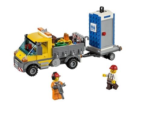 Lego City 60073 rèn tính kiên nhẫn cho trẻ nhỏ