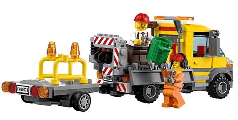 Mô hình Lego City 60073 - Dịch Vụ Vệ Sinh Lưu Động độc đáo