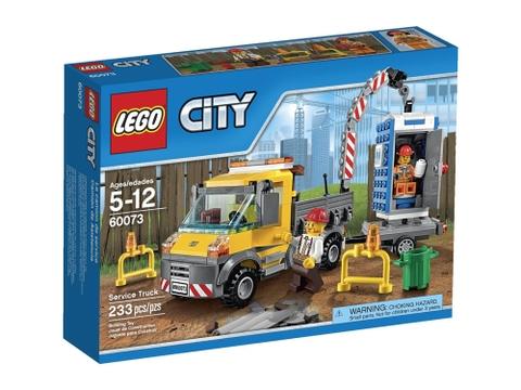 Hình ảnh bên ngoài sản phẩm Lego City 60073 - Dịch Vụ Vệ Sinh Lưu Động