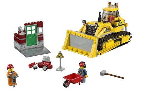 Các mô hình trong Lego City 60074 - Xe Ủi