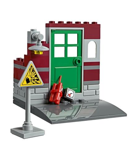 Nhựa an toàn được sử dụng sản xuất Lego City 60074 - Xe Ủi