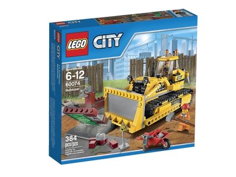Vỏ hộp Lego City 60074 - Xe Ủi