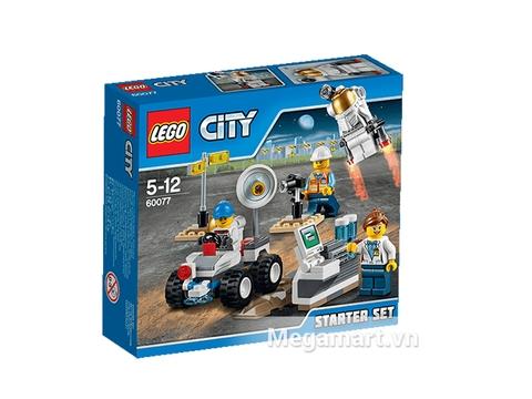 Hình ảnh vỏ ngoài của Lego City 60077 - Bộ Không Gian Khởi Đầu