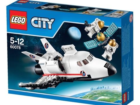 Hình ảnh bên ngoài sản phẩm Lego City 60078 - Tàu con thoi tiện ích