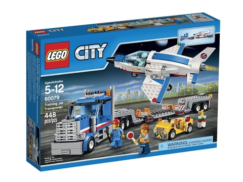Vỏ hộp Lego City 60079- Máy bay huấn luyện phản lực