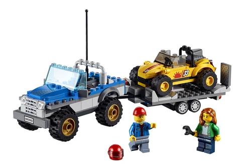 Các chi tiết xuất hiện trong Lego City 60082 - Dune Buggy Trailer