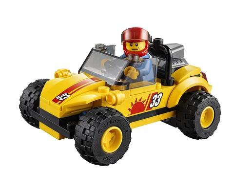 Chiếc xe địa hình nổi bật xuất hiện trong Lego City 60082