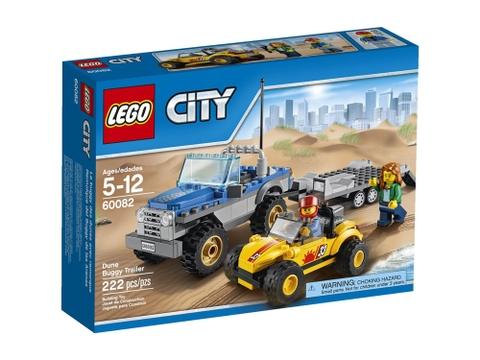 Vỏ ngoài sản phẩm Lego City 60082 - Dune Buggy Trailer