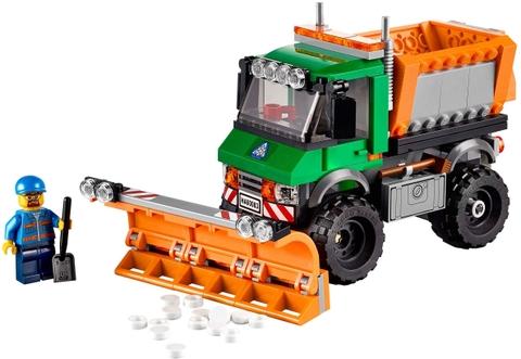 Các chi tiết có trong bộ đồ chơi Lego City 60083 - Xe Ủi Tuyết