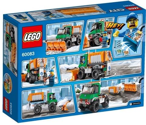 Bé sẽ biết thêm nhiều kiến thức xung quanh khi chơi Lego City 60083 - Xe Ủi Tuyết