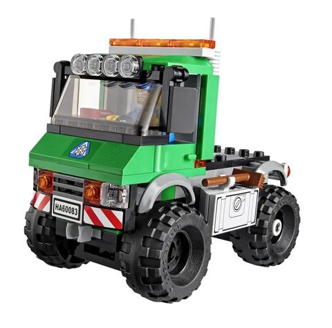 Lego City 60083 - Xe Ủi Tuyết với 196 miếng ghép thông minh được làm từ vật liệu an toàn cho trẻ nhỏ