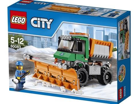 Hình ảnh bên ngoài sản phẩm Lego City 60083 - Xe Ủi Tuyết