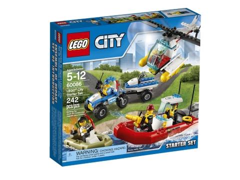 Hình ảnh bên ngoài sản phẩm Lego City 60086 - Bộ Khởi Đầu Lego City