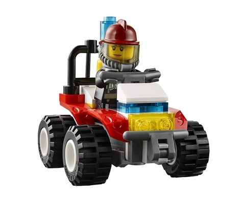 Lego City 60088 - Khởi Đầu Cứu Hỏa - đồ chơi an toàn