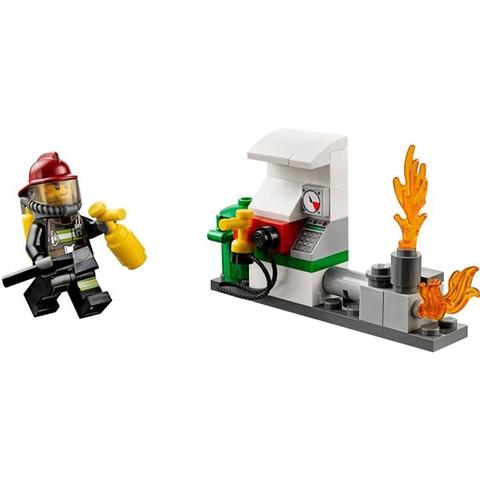 Bộ đồ chơi Lego City 60088 - Khởi Đầu Cứu Hỏa giúp trẻ phát triển khả năng sáng tạo
