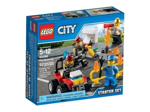 Vỏ bọc bên ngoài Lego City 60088 - Khởi Đầu Cứu Hỏa