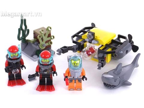 Lego City 60091 - Bộ Biển Sâu Khởi Đầu cùng bé khám phá đại dương