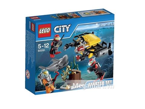 Hình ảnh vỏ ngoài của Lego City 60091 - Bộ Biển Sâu Khởi Đầu