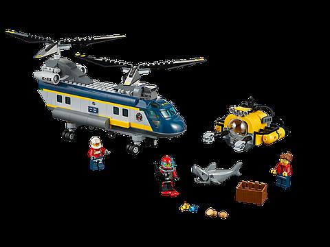 Mô hình Lego City 60093 - Trực Thăng Biển Sâu sau khi hoàn thành