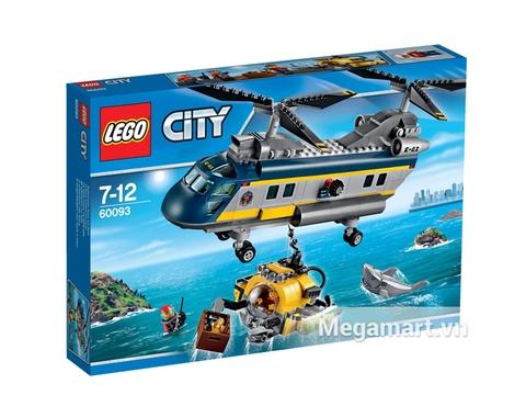 Hình ảnh vỏ ngoài của Lego City 60093 - Trực Thăng Biển Sâu